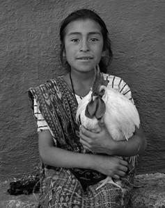 Rooster Girl Full Image