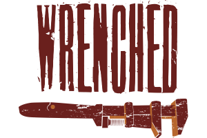 wrenched logo