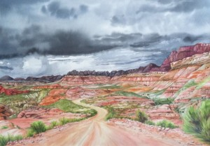 Gloria Charles Painting