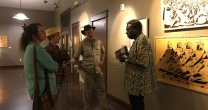 Djibril N'Doye Artist Reception