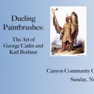 Dueling Paintbrushes